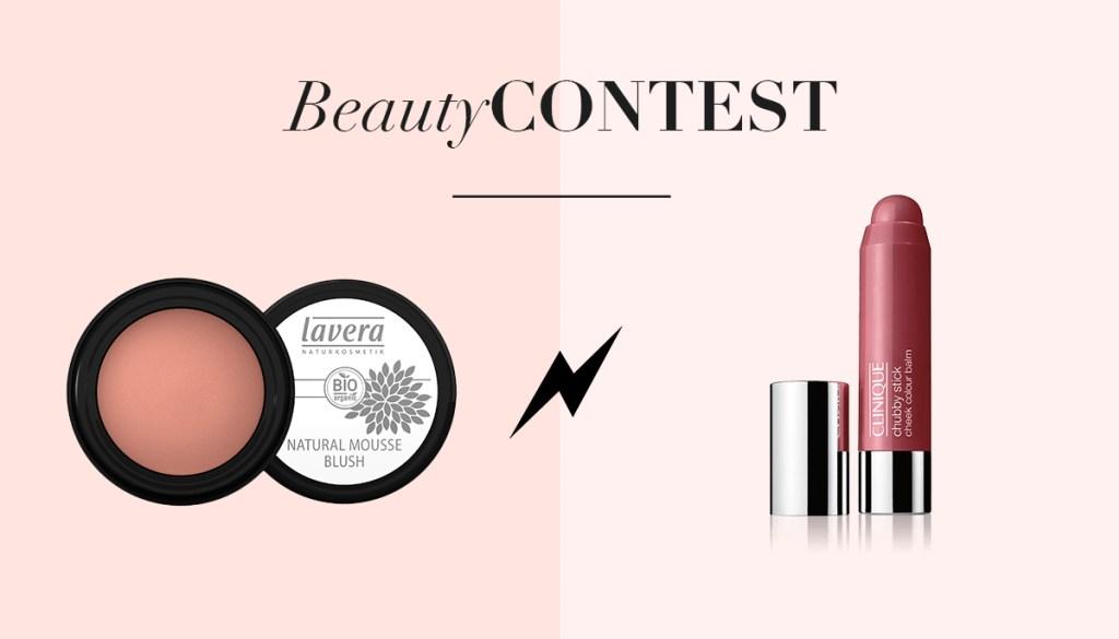 Beauty Contest – Les blushs crème