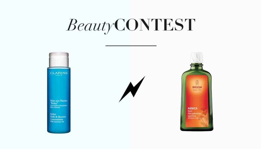 Beauty Contest, les huiles de bain relaxantes
