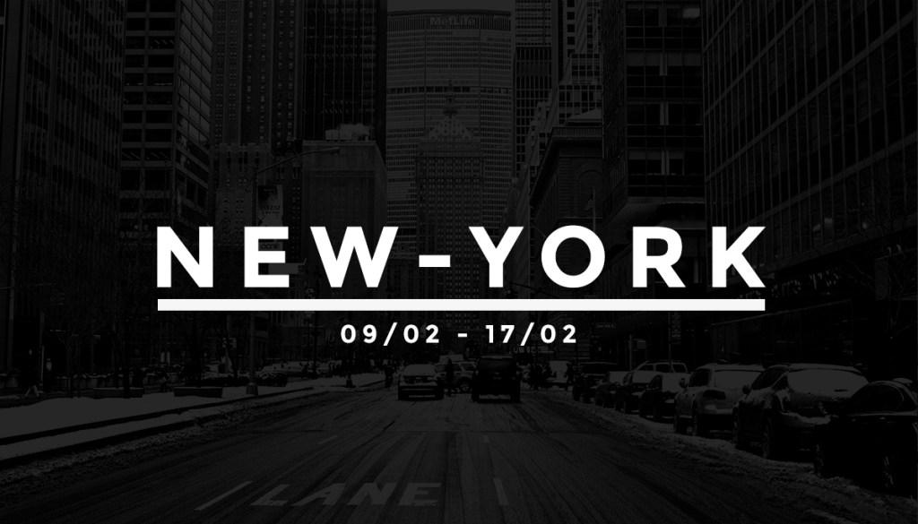 La Fashion Week en quelques clics – FW17 NYC