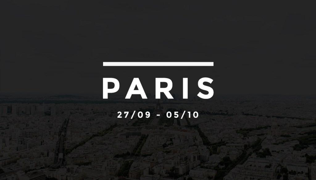 La Fashion Week en quelques clics – #3 Paris