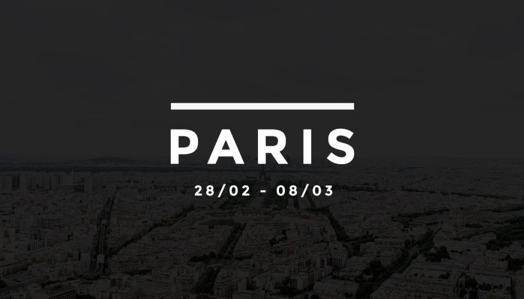 La Fashion Week en quelques clics – FW17 Paris