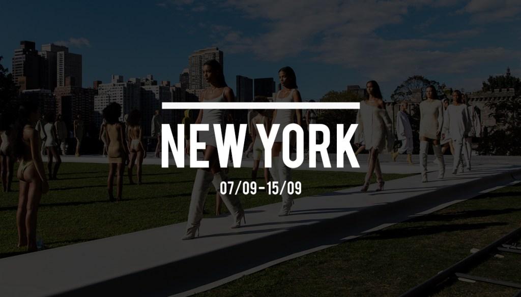 La Fashion Week en quelques clics – #1 New York