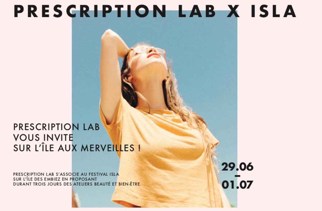 DP PRESCRIPTION LAB X ISLA 2018