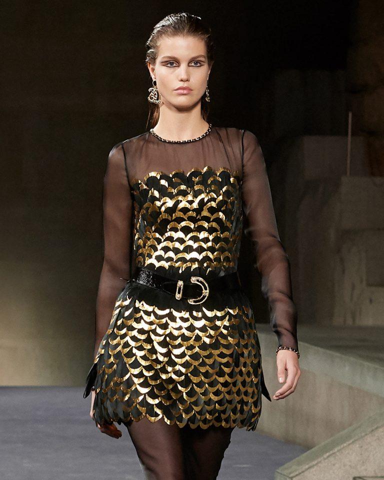 Le défilé Chanel Métiers d'Art avec la Maison Lemarié